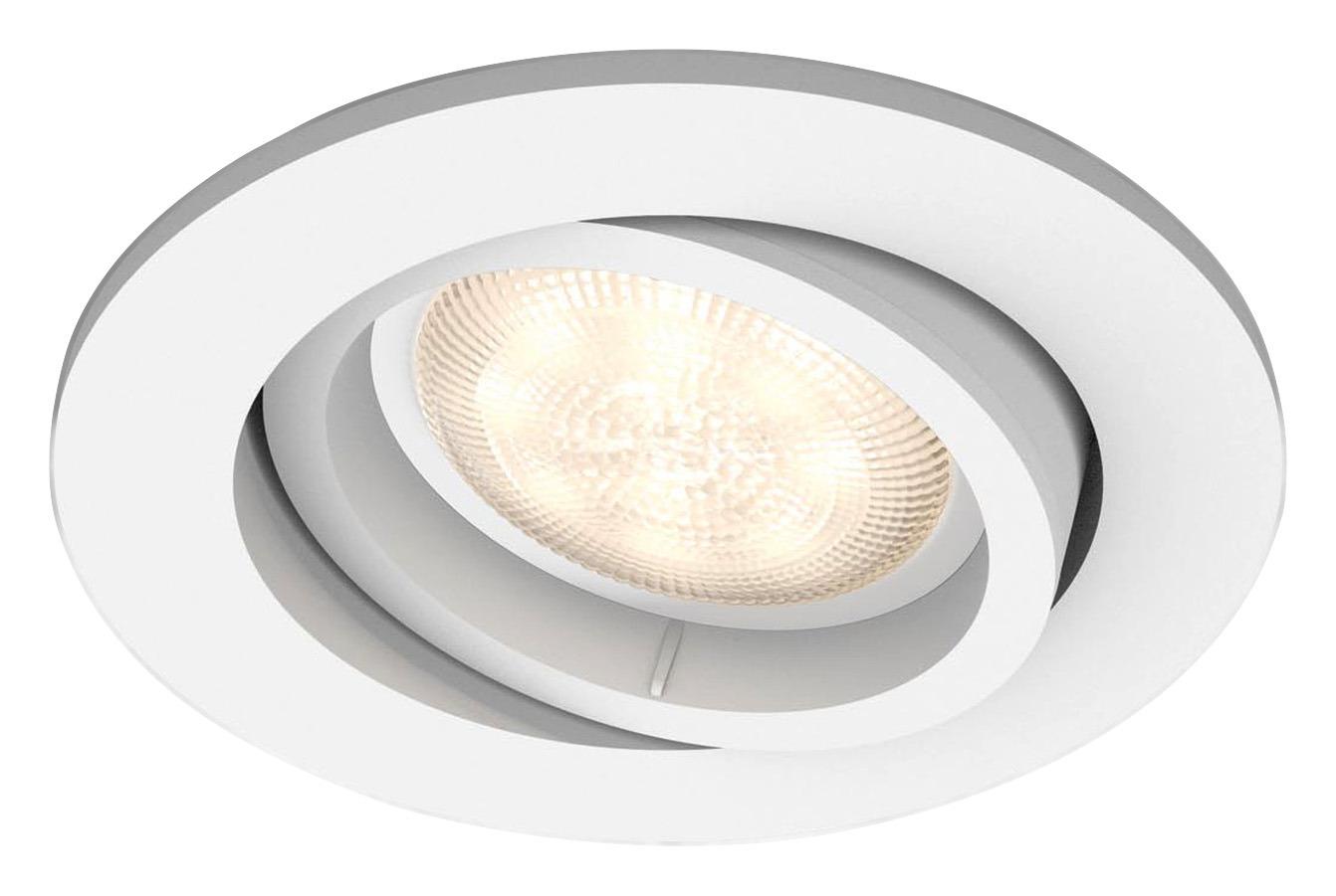 Philips inbouwspot Shellbark 1x4,5W wit