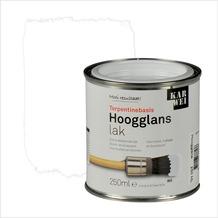 KARWEI lak hoogglans wit extra dekkend 250 ml