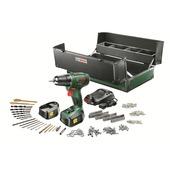 Bosch PSR1800 Accuboormachine Toolbox incl. 2 accu's