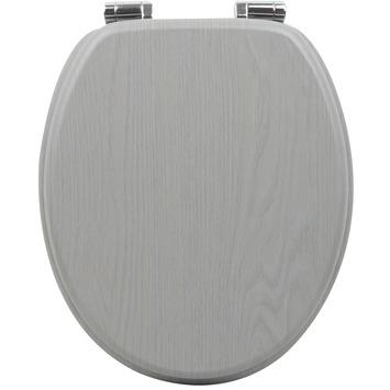 Handson Antero wc bril mdf houtlook grijs met softclose