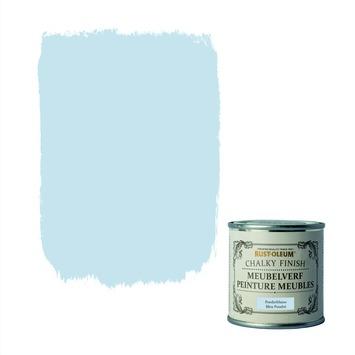 Rust-oleum meubelverf poeder blauw 125ml