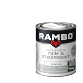 Rambo pantserbeits tuin- & steigerhout puur wit 750 ml