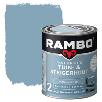 Rambo pantserbeits vintage tuin- & steigerhout petrol blauw 750 ml