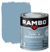 Rambo pantserbeits tuin- & steigerhout petrol blauw 750 ml