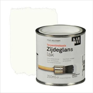 KARWEI lak zijdeglans gebroken wit extra dekkend 250 ml