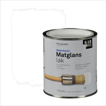 KARWEI lak matglans wit extra dekkend 750 ml