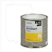 KARWEI grondverf waterbasis hout wit 250 ml