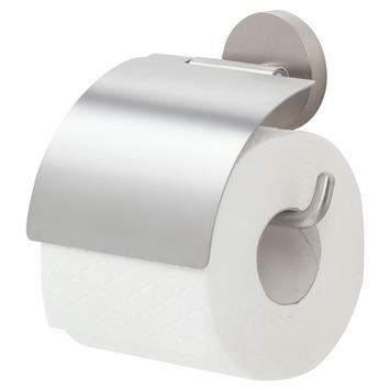Handson Smart toiletrolhouder met klep rvs