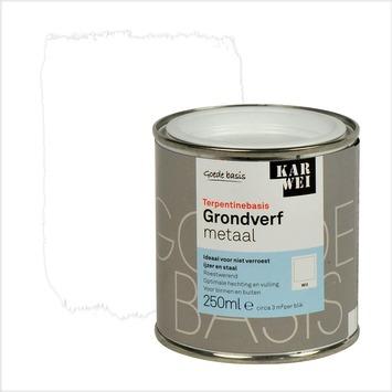 KARWEI grondverf metaal wit 250 ml