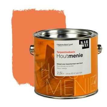 KARWEI houtmenie oranje 2,5 l