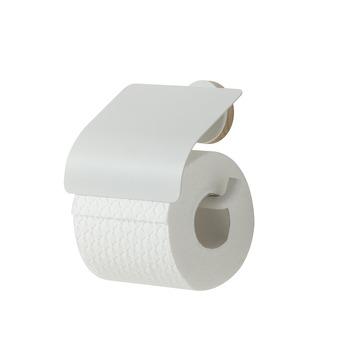 Tiger Toiletrolhouder Urban Wit met Klep
