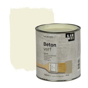 KARWEI betonverf zijdeglans beige 750 ml