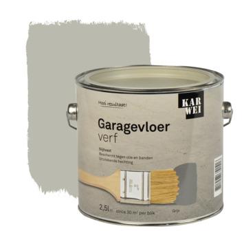 KARWEI garage vloerverf grijs 2,5 l
