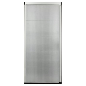 Bruynzeel plissédeur 900 serie wit 96x233-236 cm