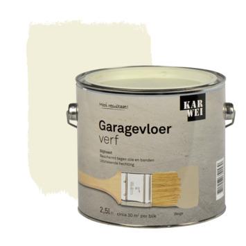 KARWEI garage vloerverf beige 2,5 l