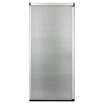 Bruynzeel plissédeur 900 serie wit 96x251-254 cm