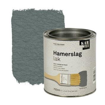 KARWEI hamerslag lak roestwerend donkergrijs 750 ml