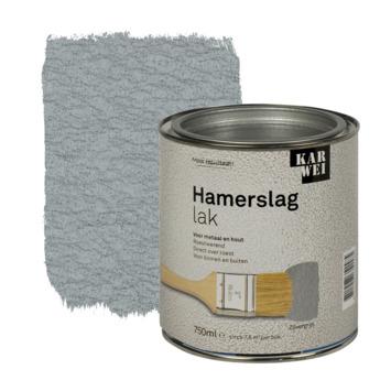 KARWEI hamerslag lak roestwerend zilvergrijs 750 ml
