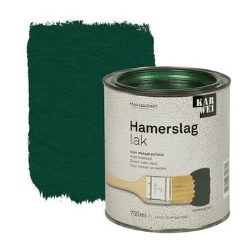KARWEI hamerslag lak roestwerend donkergroen 750 ml