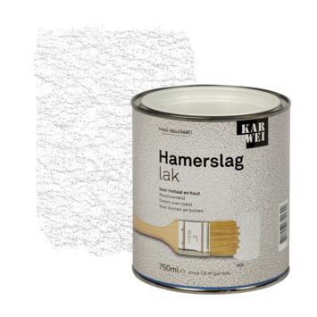 KARWEI hamerslag lak roestwerend wit 750 ml