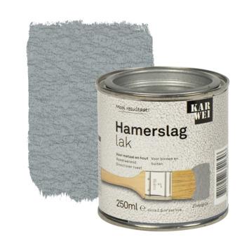 KARWEI hamerslag lak roestwerend zilvergrijs 250 ml