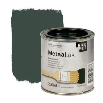 KARWEI metaallak hoogglans groen 250 ml