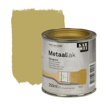 KARWEI metaallak zijdeglans goud 250 ml