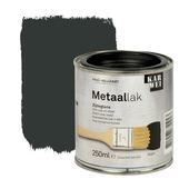 KARWEI metaallak zijdeglans zwart 250 ml