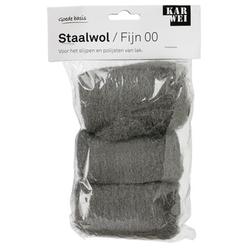 Karwei staalwol fijn 00 3 rollen a 30 gram kopen for Karwei openingstijden zondag