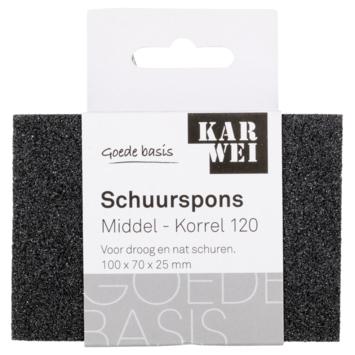 KARWEI schuurspons middel K120