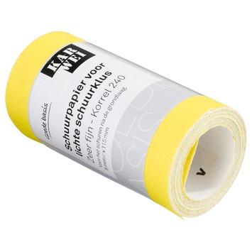 KARWEI schuurpapier op rol lichte schuurklus zeer fijn