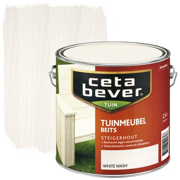 Cetabever tuinmeubelbeits white wash 2,5 l