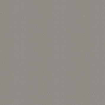 Vliesbehang textiel uni donker grijs (dessin 103447)