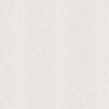 Vliesbehang textiel uni gebroken wit (dessin 103448)