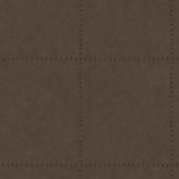 Vliesbehang leer blokken bruin (dessin 103485)