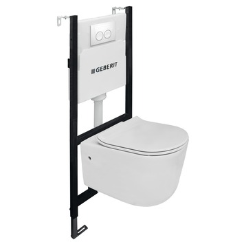 Geberit UP100 inbouwreservoir purelfow rimless