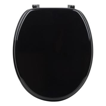 Handson Matias wc bril mdf zwart met FSC-keurmerk