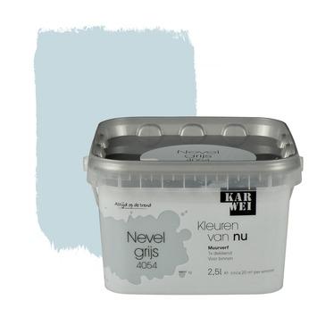 Karwei kleuren van nu muurverf mat nevelgrijs 2 5 l kopen muurverf kleur karwei - Groene warme of koude kleur ...