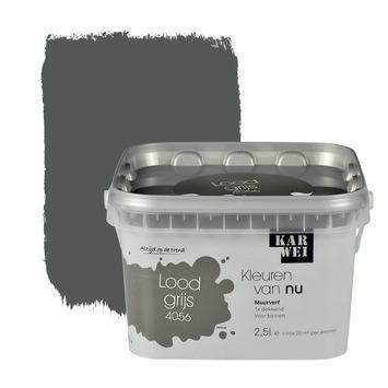 Genoeg KARWEI Kleuren van Nu muurverf mat loodgrijs 2,5 l kopen? | KARWEI WR62