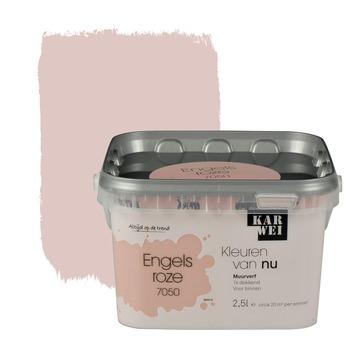 Bekend KARWEI Kleuren van Nu muurverf mat engelsroze 2,5 l kopen? | KARWEI TM46
