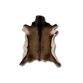 Geitenvacht Vloerkleed Bruin Gemeleerd 20 mm 70x50 cm