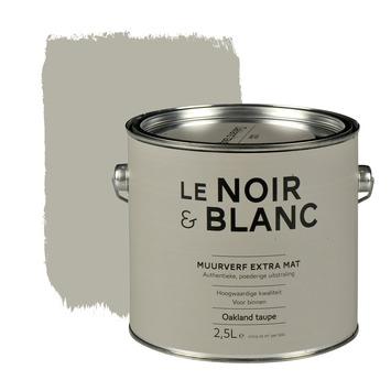 Le Noir & Blanc muurverf extra mat oakland taupe 2,5 l