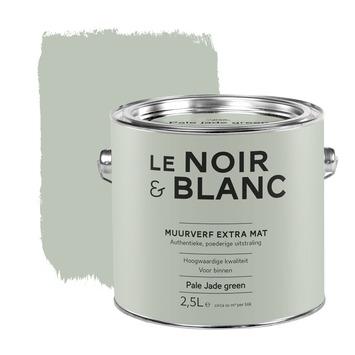 Jade Groen Karwei.Le Noir Blanc Muurverf Extra Mat Pale Jade Green 2 5 L