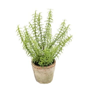 Kunstplant Rozemarijn 30 cm in pot 11 cm