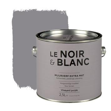 Le Noir & Blanc muurverf extra mat vineyard purple 2,5 l