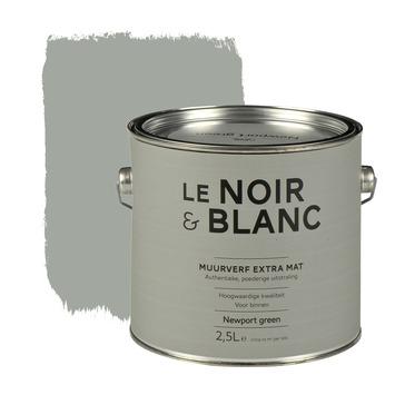 Le Noir & Blanc muurverf extra mat newport green 2,5 l