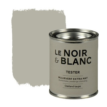 Le Noir & Blanc muurverf extra mat oakland taupe 100 ml