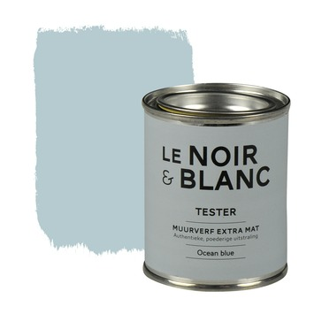 Le Noir & Blanc muurverf extra mat ocean blue 100 ml