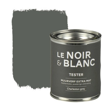 Le Noir & Blanc muurverf extra mat charleston grey 100 ml