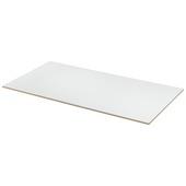 MDF plaat wit gegrond 122x61 cm dikte 12 mm